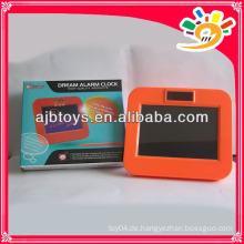 Neue LCD Alarm Message Board Uhr mit Record