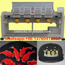 Hot sale four head cap/shoes/t-shirt embroidery machine/sewing machine
