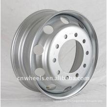 Бескамерный стальной обод для грузовиков 22.5 * 6.75
