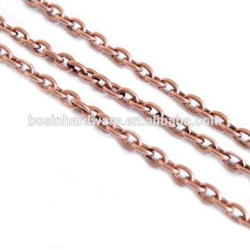 Corrente de cabo de cobre antigo da forma da alta qualidade da forma