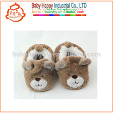 kids shoe winter warm baby cartoon slipper