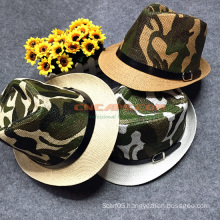 Custom Leisure  Camouflage Hat Fedora Style