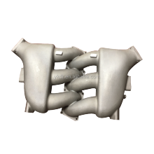 China aluminum foundry supply OEM performance intake manifold and oil pan as drawing or sample