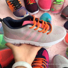 Women Student Woven Sports Sneaker Footwear Shoe