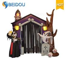 Надувной Хэллоуин украшения Хэллоуин Хэллоуин Надувной Дом с привидениями