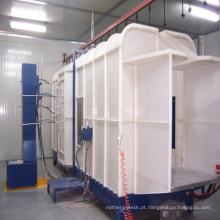 Cabine Sraying do revestimento de poupança de energia do pó para a máquina de revestimento