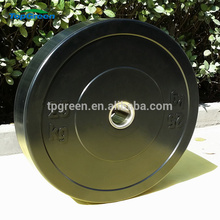 colored 5kg Cross Fitness Power Training Rubber Weight Plates
