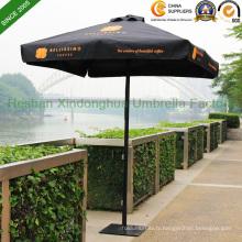 Parapluie noir Aluminium Patio Jardin 2mx2m pour le marché de l'Australie (PU-2020A)