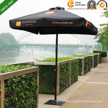 2mx2m Black Aluminium Patio Garden Umbrella for Australia Market (PU-2020A)