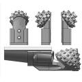 Einzelkegel-Bit der harten Formation / Einzelklingen-Dreikantbohrer