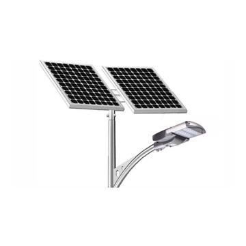 Cabeza de iluminación solar de la luz de calle de 12V 24VDC 65W LED con el panel solar y la energía solar