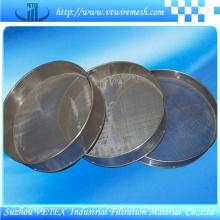 Peneira de aço inoxidável de separação de líquido sólido