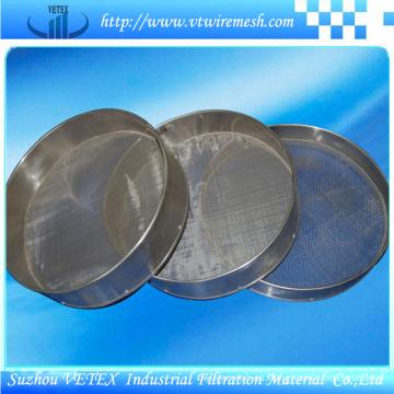 Tamiz de acero inoxidable de separación sólido-líquido