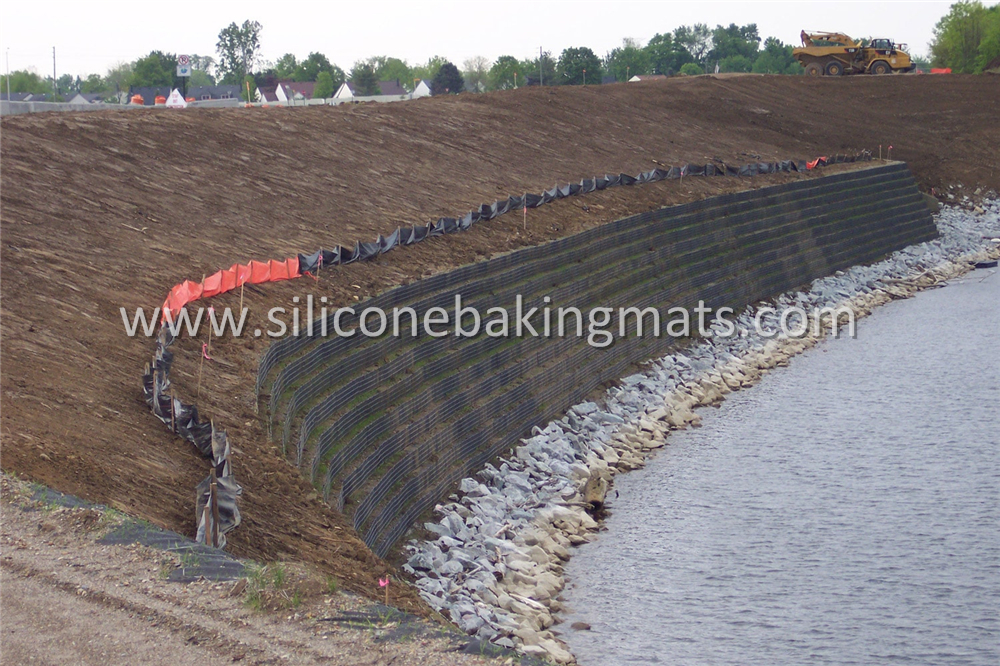 Biaxial Geogrid For Retaining Wall