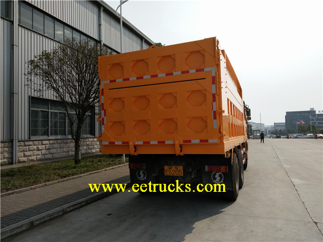 SHACMAN Self-loading Dump Trucks