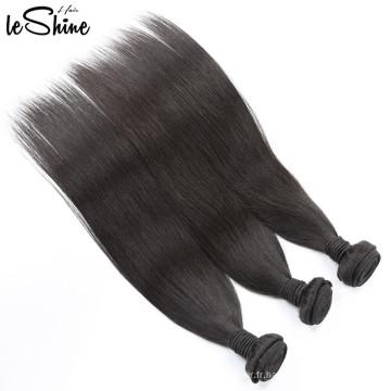Extension brésilienne de cheveux de Aliexpress, paquets de cheveux d'armure libre armure brésilienne de cheveux, cheveux de brésilien de vierge en gros
