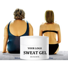 sweat gel Private label fat burning tummy stomach slimming Hot cream for weight lose cellulite removal