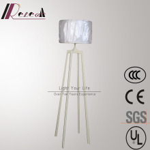 High Quality Quadrupod White Iron Standing Floor Lamp