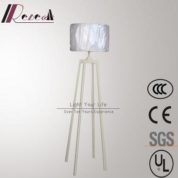 High Quality Quadrupod White Iron Standing Floor Lamp