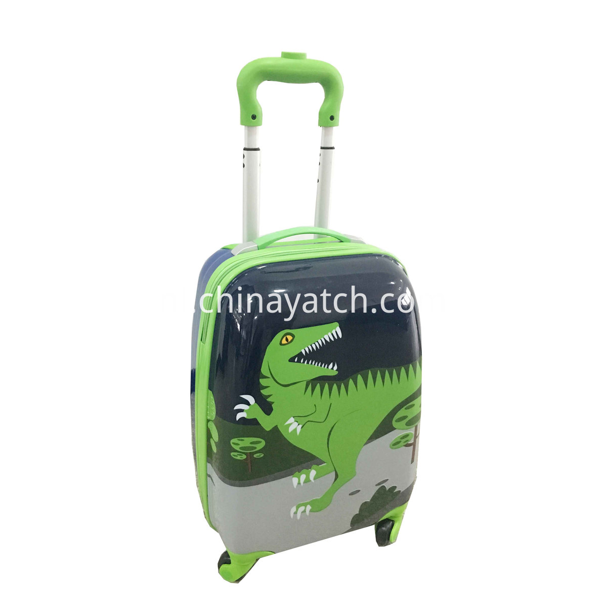 Cartoon children suitcase