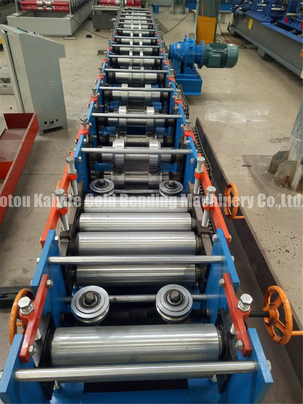 C Shaped Steel Forming Machine