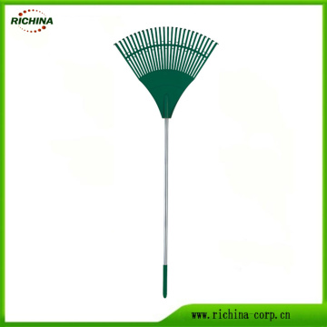 26 Teeth Poly Leaf Rake with Steel Handle