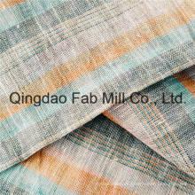 Tela de malla de lino 100% de colores (QF16-2503)