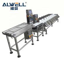 Automatic fish shrimp weight sorting machine