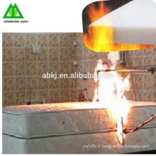 Utilisé pour l'ouate de polyester ignifuge de matelas / feutre aiguilleté de polyester