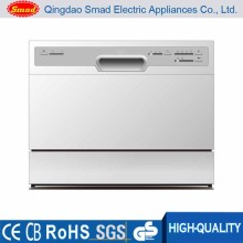 6 Sets Electronic Control Table Top Dishwasher with Ce