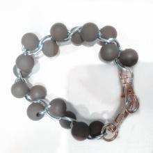 Высокое качество роскошный силиконовый браслет из бисера от производства