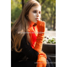 High quality ladies fashionable cable knit cashmere glove