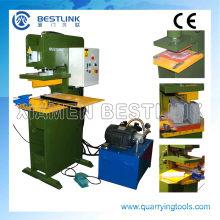 Cp90 hidráulico pedra carimbo/máquina de prensagem