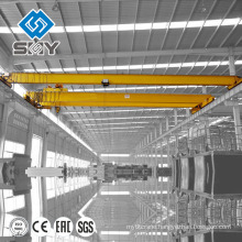 Single girder electric motor overhead crane 5 ton