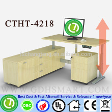 CTHT-4218 ENEL Aluminum frame electric height adjustable table corner desk height adjustable laptop desk frame
