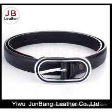New Fashion Women PU Belt with Petrol Dripping Buckle