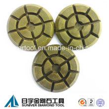 Resin Bond Diamond Polishing Pads for Concrete Floor