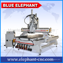 Enrutador industrial del CNC de la madera de ELE 1325 / máquina del CNC de la carpintería