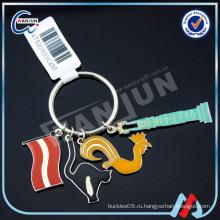 Необычная металлическая цепочка для ключей из металла