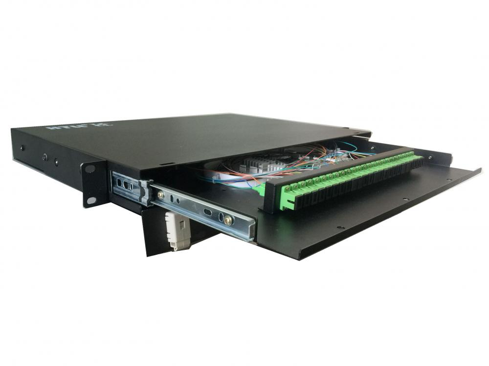 19 inch Rack Mount Fiber Optic Patch Panel