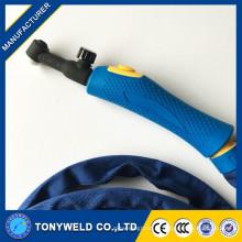 Tête de torche de soudage WP9 TIG et poignée de soudage kits de torche tig