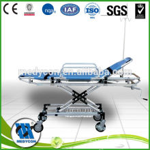 Automatic loading ambulance aluminum alloy stretcher trolley