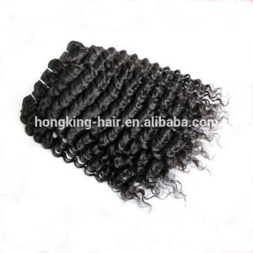 Trade Assurance Deep Wave 100 Extensión del cabello humano Virgin Peruvian Hair