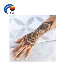 Hot Selling Henna Stencils Body Art Mehndi Style Fashionable Body Art with High Quality