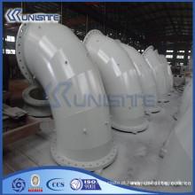 Tubo de parede dupla de alta pressão personalizado para draga (USC6-004)