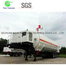 Semirremolque de tanque de GNL de gas natural licuado