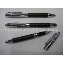 caneta de couro