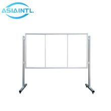 Wholesale price wall mounted guartet magnetic whiteboard aluminum frame duramax