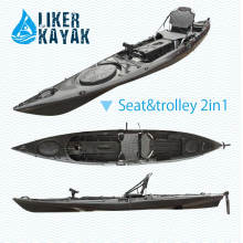 4.3m Length PE Kayak Fishing Sots Design by Liker