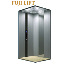 Hairline Stainless Steel Cabin Home Elevator